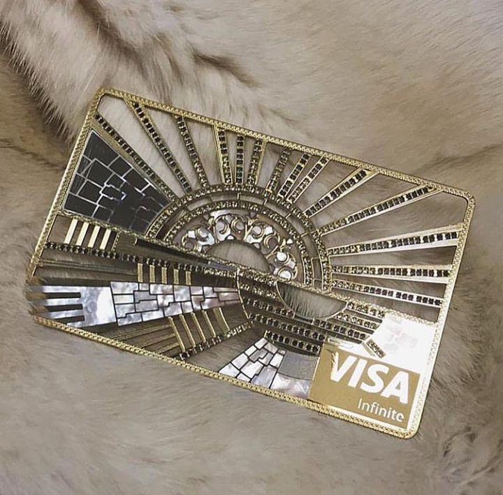 credit card, luxury, and money image