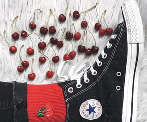 all star, fashion, and cherry image