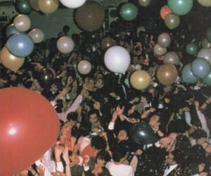 party, balloons, and grunge image