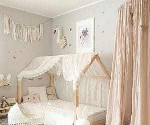 room, bedroom, and baby image