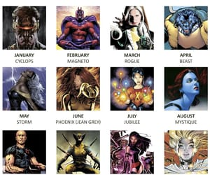 character, quizz, and xmen image