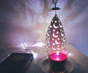 candle, light, and رَمَضَان image