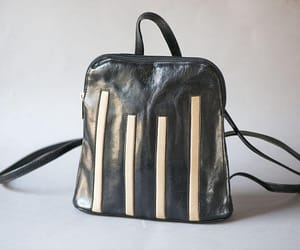 etsy, leather backpack, and festival bag image