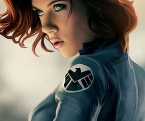 Marvel and black widow image