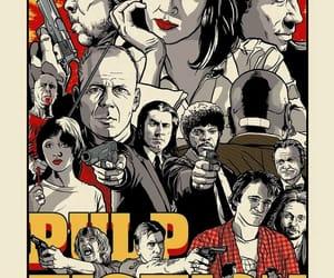 pulp fiction, quentin tarantino, and John Travolta image