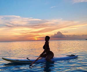 sea, sunset, and kyliejenner image