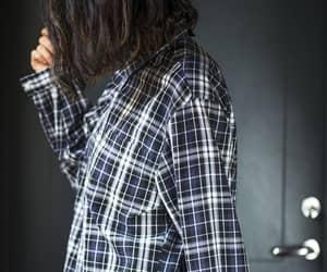 etsy, long sleeves shirt, and dark grey shirt image