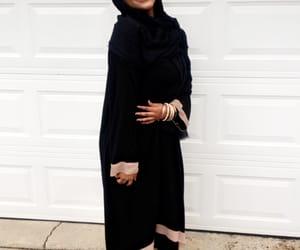 black, muslim, and muslim girl image