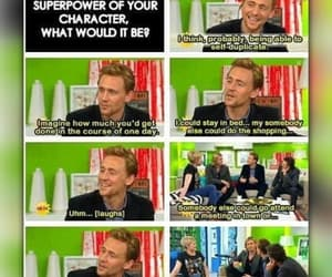 interview, Marvel, and tom hiddleston image