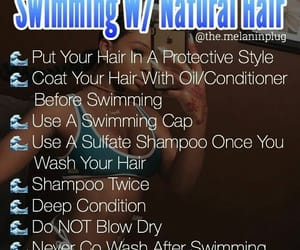 helpful, natural hair, and tips image