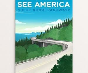Road Trip, graphic design, and national parks image