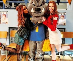 red, madelaine petsch, and riverdale high image