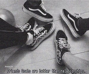 aesthetic, love quotes, and vans image