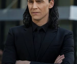 loki, Marvel, and tom hiddleston image