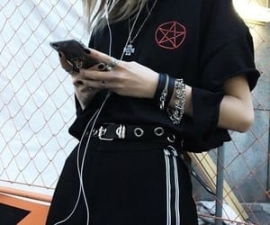 black, style, and goth image