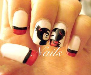 nails, pucca, and red image