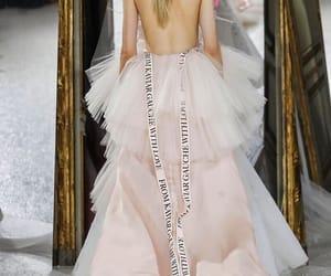 fashion, wedding dress, and luxury dresses image