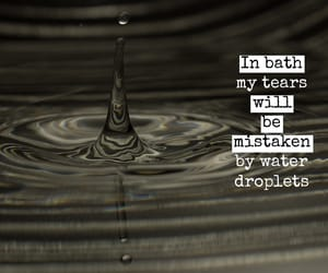 angry, bathtub, and quote image