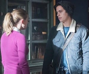 riverdale, bughead, and cole sprouse image