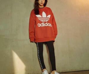 blackpink, jisoo, and adidas image