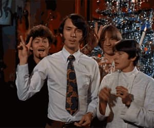 the monkees, christmas, and Davy Jones image
