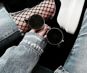 denim, fashion, and glasses image