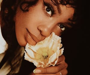 sza, flowers, and music image