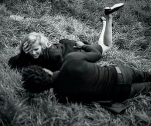 blackandwhite, sevgili, and couple image