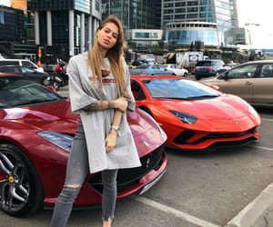 Lamborghini, luxury, and moscow city image