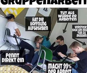 deutsch, schule, and meme image