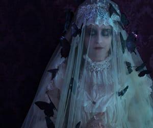 bride, haunting, and dark image