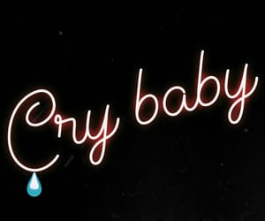 background, cry baby, and dark image
