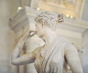 aesthetic, statue, and art image