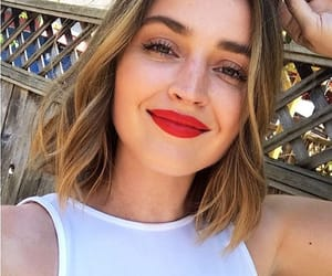 babe, canadian, and red lips image