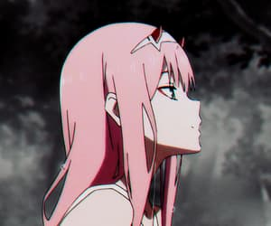 girl, zero two, and darling in the franxx image