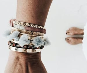 style, accessories, and bracelet image