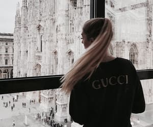 girl, gucci, and fashion image