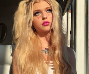 girl, loren gray, and hair image