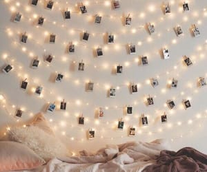 bedroom, photos, and decor image