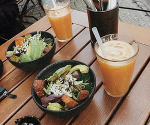 drink, food, and meal image