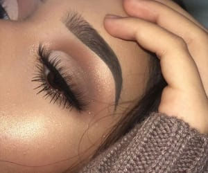 eyeshadow, highlighter, and makeup image