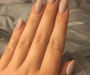 nails, Nude, and shine image