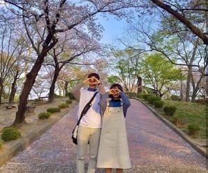 couple, ulzzangcouple, and love image