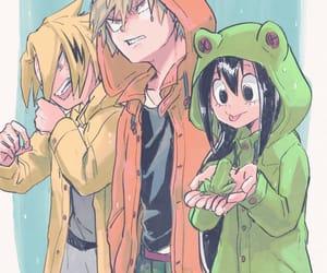 anime boy, boku no hero academia, and bakugou image