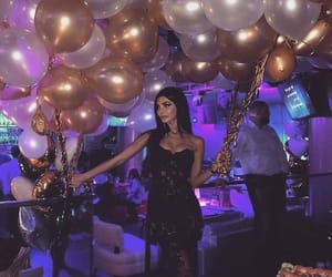 balloons, birthday, and chic image
