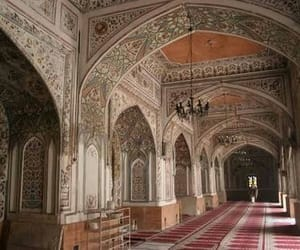 architecture, mosque, and peshawar image