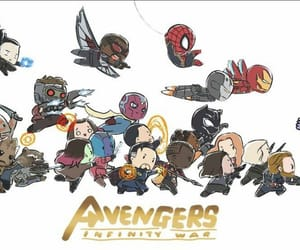 Avengers, heroes, and infinity image