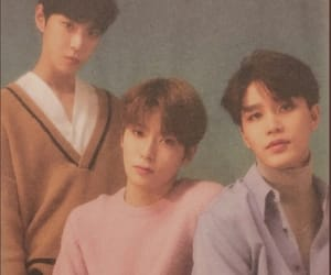 mark lee, jungwoo, and taeil image