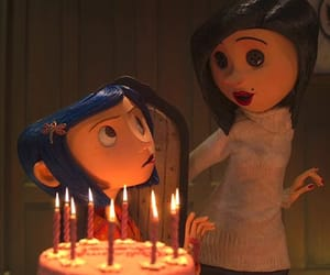 coraline, pelicula, and botones image