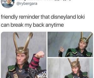 loki, disneyland, and Marvel image